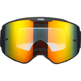 O'Neal B-20 Goggles Plain, black/white-radium red